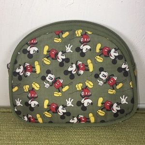 NWOT Mickey Mouse Makeup Bag Tote